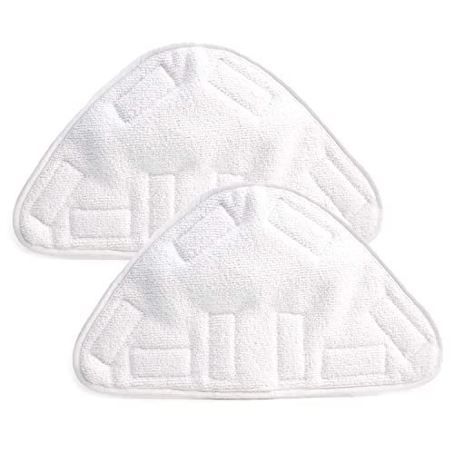 SODIAL New 4pcs Replacement Pads For H2O H20 X5 Steam Mop Cleaner Floor Washable Microfibre Pads