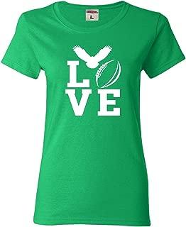 Womens Love Football Philadelphia T-Shirt