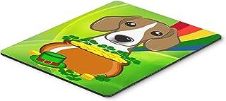 Caroline's Treasures BB1983MP Beagle St. Patrick's Day Mouse Pad, Hot Pad or Trivet, Large, Multicolor