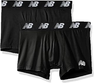 "New Balance Men`s Premium Performance 3"" Trunk Underwear (Pack of 2)"