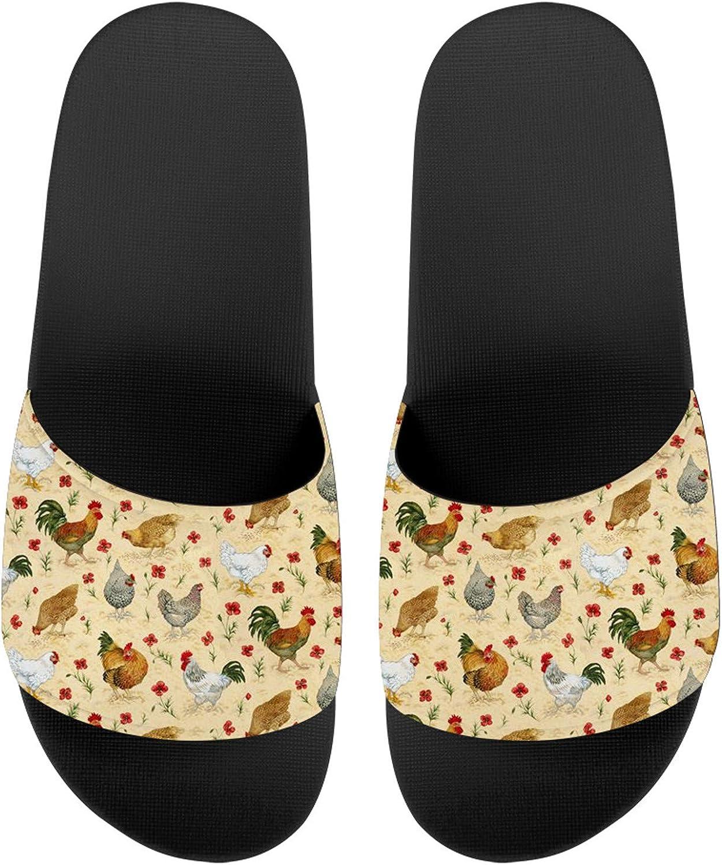 JoyLamoria Lightweight Sandals Mens Slippers House Slippers, Durable Slipper Shoes Flip Flops Comfortable Slippers Foot Support Indoor Outdoor