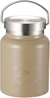 キャプテンスタッグ(CAPTAIN STAG) フードポット フードコンテナー 水筒 ダブルステンレスボトル 真空断熱 保温・保冷 HDフードポット 400ml モンテ