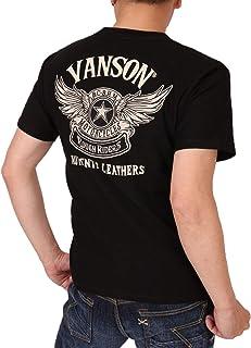 (バンソン) VANSON フライングスター 半袖 Tシャツ 刺繍 NVST-2012