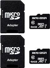 Micro Center 64GB Class 10 Micro SDXC Flash Memory Card...