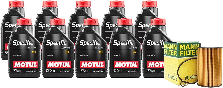 10L SPECIFIC LL-01 FE 5W30 Filter Motor F13 Oil Atlanta Mall F12 OFFer kit Change M