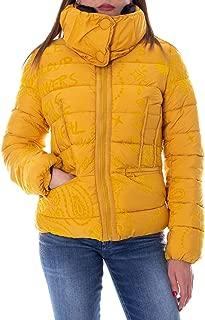 Desigual Luxury Fashion Womens 19WWEW42YELLOW Yellow Down Jacket   Fall Winter 19