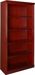 Regency Prestige 72-Inch Bookcase, Mahogany