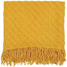 Blanket Soft Throw Blanket for Winter Knitted Warm Throw Blanket for Couch and Sofa Comfort Bed Blankets for Living Room D...