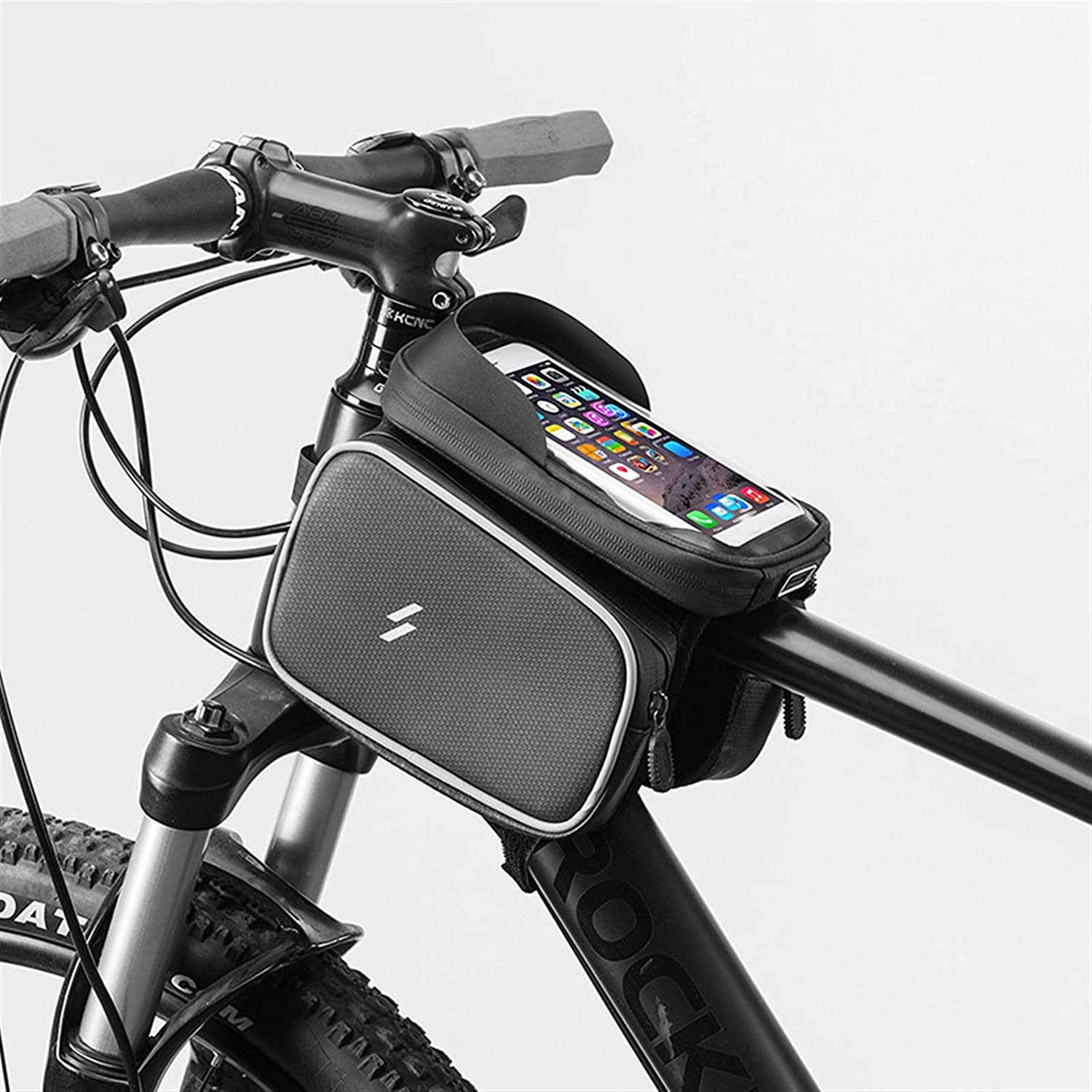 Bike Frame Bag Waterproof and Bicycle Pouch Sunshade 2021new shipping Popular overseas free L
