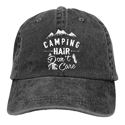 Camping Is Always A Good Idea Knit Cap Camping Makes Me Happy Hat