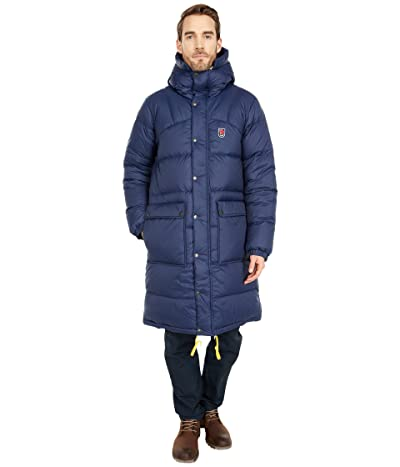 Fjallraven Expedition Long Down Parka (Navy) Men