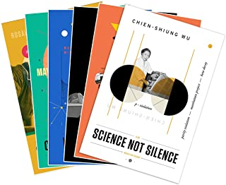 """Set of SIX (6) NASA Prints Mighty Women in Science Poster Set - Each Measure 24"""" high x 18"""" Wide (610mm high x 457mm Wide)"""