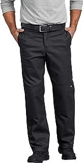 Men's Flex Regular Straight Fit Double Knee Work Pant