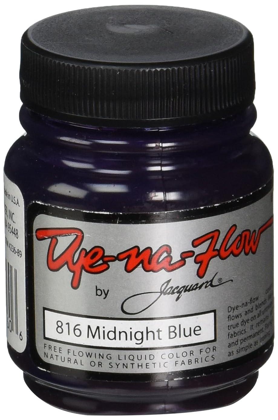 Jacquard Dye-Na-Flow Liquid Color 2-1/4 Ounces-Midnight Blue