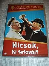 Le tatoué (1968) Nicsak, ki tetovál? / The Tattoo / Louis de Funès Collection / FRENCH and HUNGARIAN Sound Options / Hungarian Subtitles [European DVD Region 2 PAL]