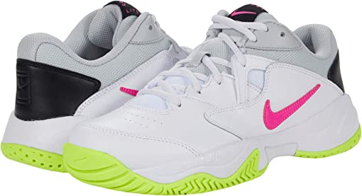 White/Laser Fuchsia/Hot Lime/Grey Fog