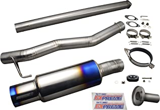Sistema de escape de titanio Tomei Ti para Mitsubishi EVO 8, 9 4G63 USDM Ver 440004