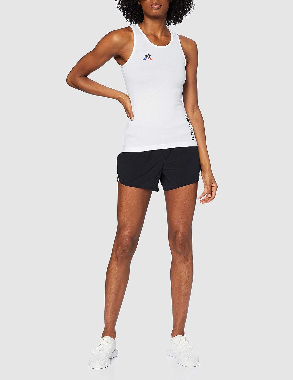 le coq Sportif Womens Tennis D/ébardeur N/°4 W New Tight Top