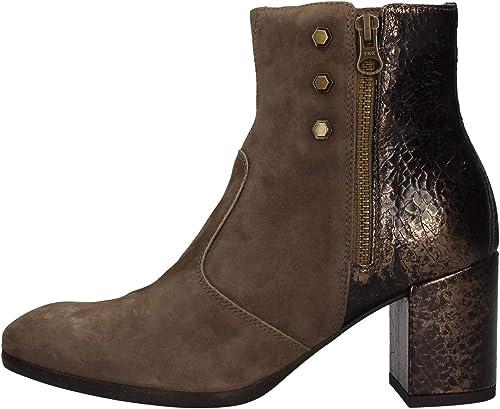 Nero giardini tronchetti stivali per donna A908730D 346