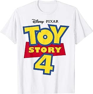 Disney Pixar Toy Story 4 Movie Logo C1  T-Shirt