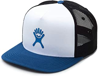 Hydro Flask Reflective Logo Mesh Back Trucker Hat Cap with Snapback Size Adjustment - One Size Fits All