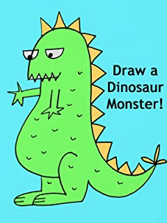 Draw a Dinosaur Monster