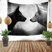 Warm Home Shabby Wind/Animal Wolf Achtergrond Doek Hang Doek Achtergrond Muur/Thuis Tapestry/Woonkamer Wanddeken Bed Decor...