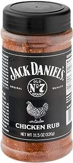 Jack Daniel's Original Quality Chicken Rub, 11.5 oz