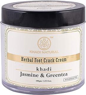KHADI NATURAL Jasmine and Green Tea Herbal Foot Crack Cream, 100g