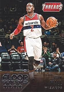 2015-16 Panini Threads Basketball Floor Generals #20 John Wall Washington Wizards