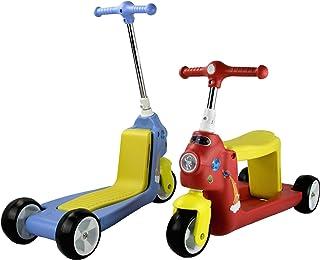 Airel Patinete 2 en 1 | Patinete Reversible | Patinete de 3 Ruedas | Scooter 2 en 1 | Correpasillos Bicicleta Niños