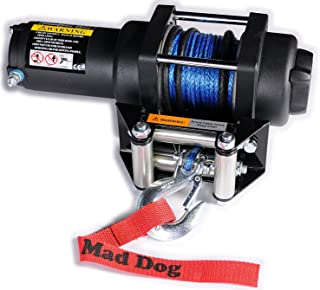 Mad Dog 2500 lb Winch Mount Combo Textron w/Synthetic Rope 700 Alterra TBX/VLX 2018