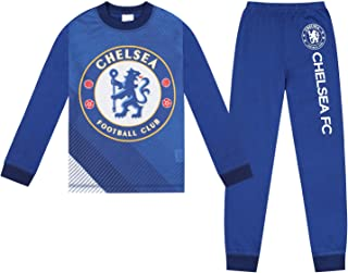 Chelsea FC Official Soccer Gift Boys Sublimation Long Pajamas