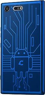 Cruzerlite Bugdroid Circuit TPU Case for Sony Premium - Blue