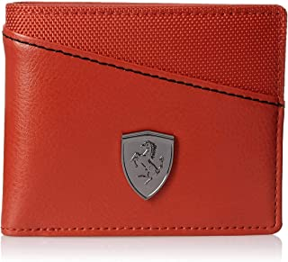 KVPUMA Ferrari Men's Wallet Comfortable for All Cross Red) (Original Products Selling by only Seller : KRATIVE Wave.) #3 (Red)