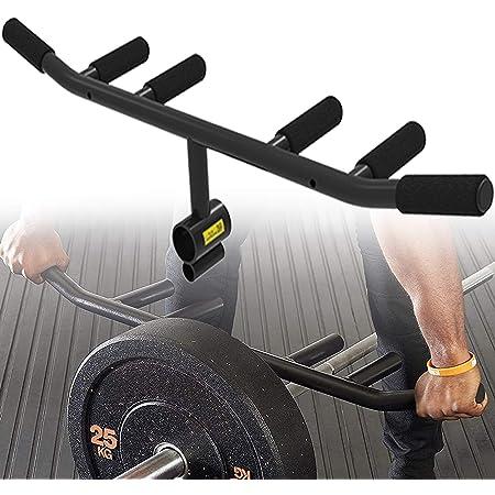 TnP Distribution Single Landmine Club Handle Bar 1 Arm Row Gym Attachment for Olympic Barbell 2 Bar Rows /& Lateral Raises