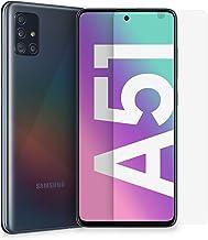"Samsung Smartphone Galaxy A51 + Pellicola Protettiva, Display 6.5"" Super AMOLED, 4 fotocamere, 128 GB, RAM 4 GB, Batteria 4000 mAh, 4G, Dual Sim, Android 10, Black, (2020) [Versione Italiana]"