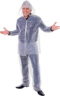 Mens Ladies Bubble Wrap Suit Festival Hen Stag Do Party Night Funny Fancy Dress Costume Outfit (One Size)