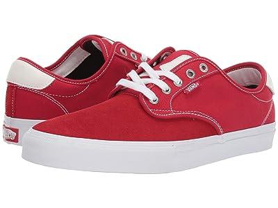 Vans Chima Ferguson Pro (Racing Red/True White) Skate Shoes