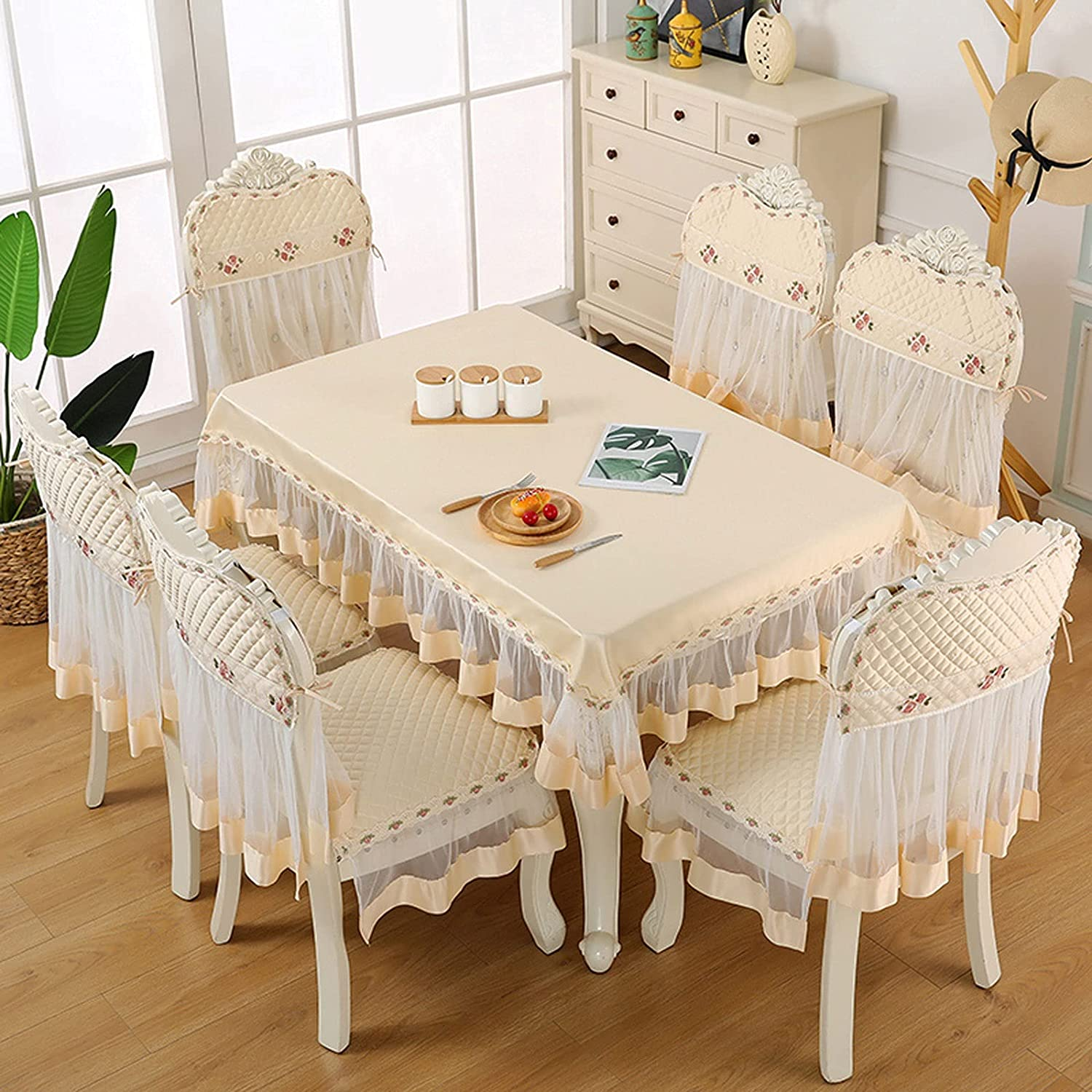 Amazon.com XIAOLI Chair Cover 9 Pack Tulle Chair Cover with ...
