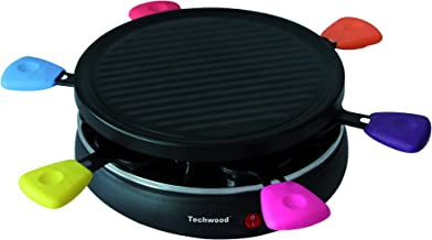 Techwood TRA-62 Raclette Grill 6 Personnes