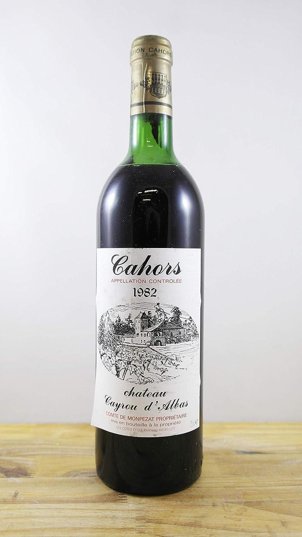 Vino Cosecha 1982 Château Gayrou d'Albas Botella