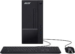 Acer Aspire TC-875-UR12 Desktop, 10th Gen Intel Core i5-10400 6-Core Processor, 8GB 2666MHz DDR4, 1TB 7200RPM Hard Drive, ...