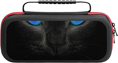 $22 » Blue-Eyed Cat Game Bag Switch Travel Carrying Case for Personalized Design Switch Lite Console and Accessories, Shell Prot...