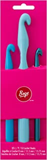 Boye Crochet Set L P and Q Crochet Hooks