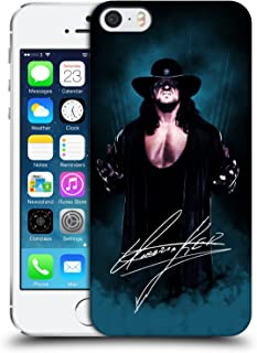 Official WWE Deadman Signature The Undertaker Hard Back Case Compatible for iPhone 5 iPhone 5s iPhone SE