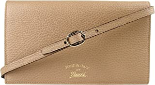 48733213651 Gucci Swing Tan Leather Crossbody Clutch Wallet 368231 2762