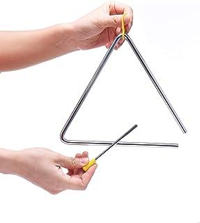 ساز کوبه ای مثلث موزیکال 8 اینچ با ضرب کننده
