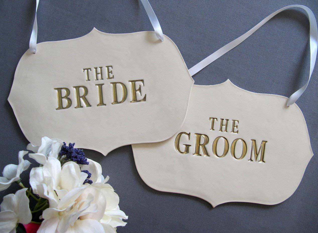 Wedding Decoration - Large Gold Bride depot The Groom Si Nashville-Davidson Mall