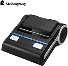 Meihengtong Bluetooth Receipt Printers Wireless Thermal Printer 80mm Compatible with Android/iOS/Windows System ESC/POS Print Commands Set for Office and Small Business (Receipt Printer)
